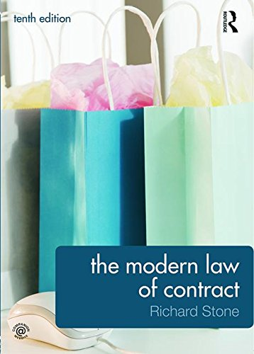 9780415630955: The Modern Law of Contract