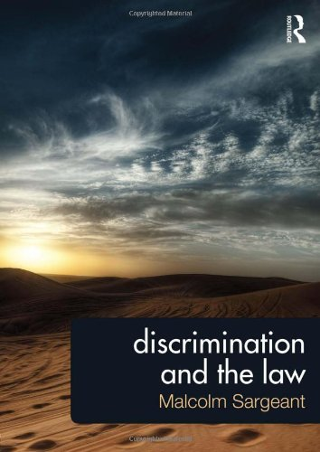 9780415631952: Discrimination and the Law