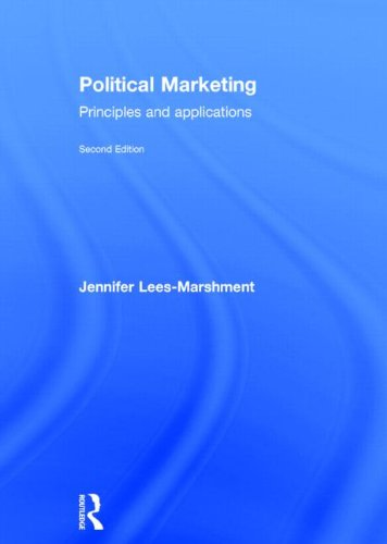 9780415632089: Political Marketing: Principles and Applications