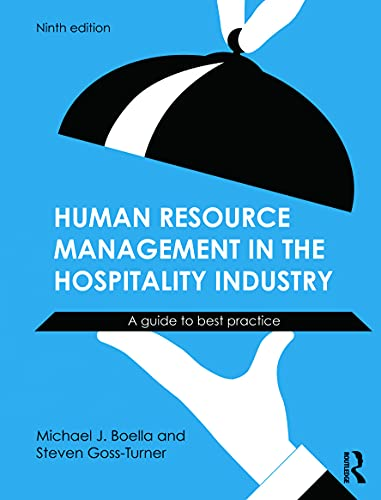 9780415632546: Human Resource Management in the Hospitality Industry: A Guide to Best Practice