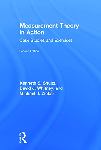9780415633628: Measurement Theory in Action: Case Studies and Exercises, Second Edition