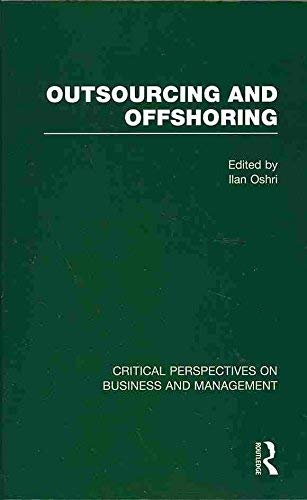 Outsourcing and Offshoring (Hardback)