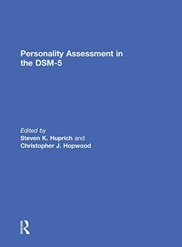 Personality Assessment in the DSM-5