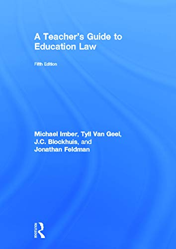 9780415634700: A Teacher's Guide to Education Law