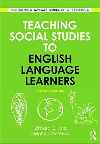 9780415634960: Teaching Social Studies to English Language Learners (Teaching English Language Learners Across the Curriculum)