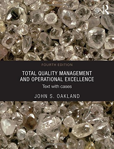 9780415635493: Total Quality Management and Operational Excellence: Text with Cases