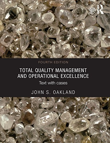 9780415635509: Total Quality Management and Operational Excellence: Text with Cases