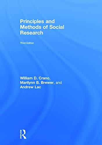 9780415638555: Principles and Methods of Social Research
