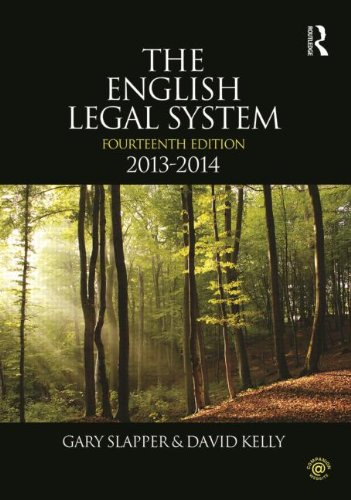 9780415639989: The English Legal System: 2013-2014 (Volume 2)