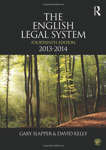 9780415639996: The English Legal System: 2013-2014