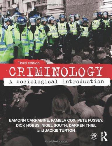 9780415640800: Criminology: A Sociological Introduction