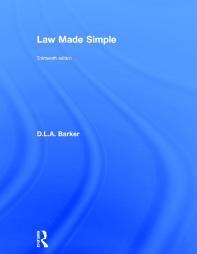 9780415641357: Law Made Simple