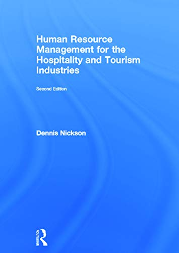 9780415642118: Human Resource Management for the Hospitality and Tourism Industries (3D Photorealistic Rendering)