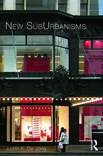 9780415642170: New SubUrbanisms