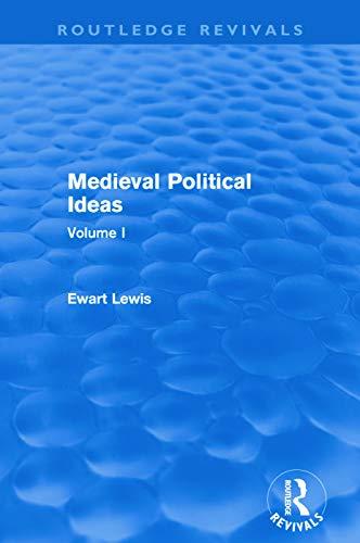 9780415642262: Medieval Political Ideas (Routledge Revivals): Volume I (Volume 1)