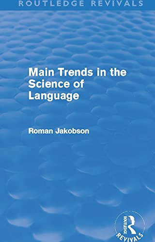 9780415642521: Main Trends in the Science of Language (Routledge Revivals)