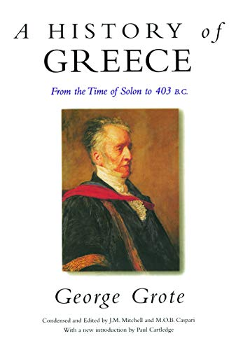 9780415642743: A History of Greece: From the Time of Solon to 403 BC