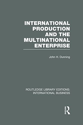 9780415643139: International Production and the Multinational Enterprise (RLE International Business) (Routledge Library Editions: International Business)