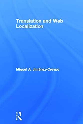 9780415643160: Translation and Web Localization