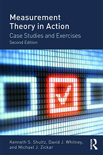 9780415644792: Measurement Theory in Action: Case Studies and Exercises, Second Edition