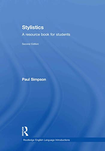 9780415644969: Stylistics: A Resource Book for Students (Routledge English Language Introductions)