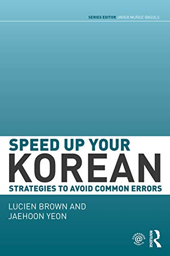 9780415645041: Speed up your Korean: Strategies to Avoid Common Errors (Speed Up Your Language Skills)