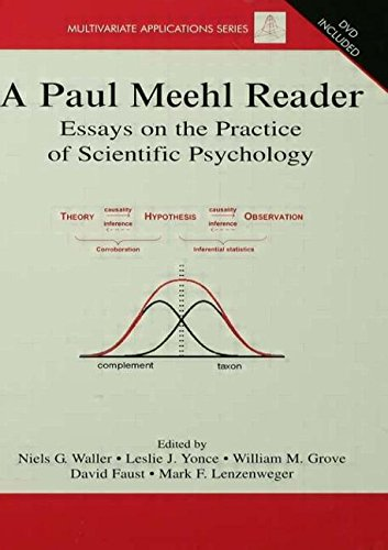 9780415645560: A Paul Meehl Reader: Essays on the Practice of Scientific Psychology (Multivariate Applications Series)