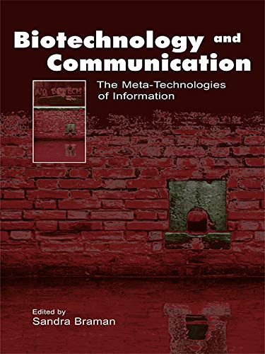 9780415646086: Biotechnology and Communication: The Meta-Technologies of Information (Routledge Communication Series)