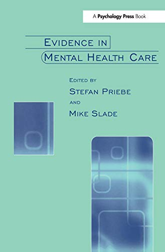 9780415647649: Evidence in Mental Health Care