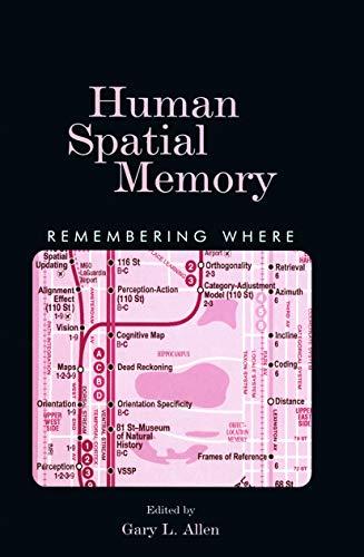 9780415648394: Human Spatial Memory: Remembering Where