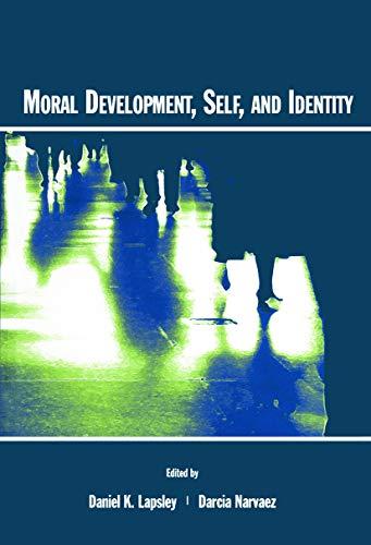 9780415650274: Moral Development, Self, and Identity