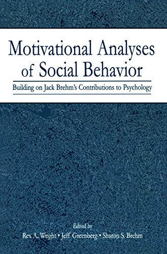 9780415650304: Motivational Analyses of Social Behavior: Building on Jack Brehm's Contributions to Psychology