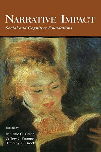 9780415650359: Narrative Impact: Social and Cognitive Foundations