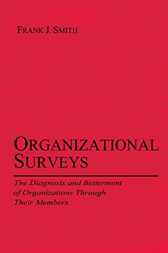 9780415650571: Organizational Surveys: The Diagnosis and Betterment of Organizations Through Their Members (Applied Psychology Series)