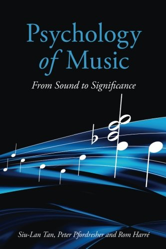 9780415651165: Psychology of Music: From Sound to Significance