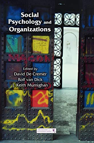 9780415651820: Social Psychology and Organizations (Organization and Management Series)