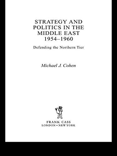 9780415652018: Strategy and Politics in the Middle East, 1954-1960: Defending the Northern Tier