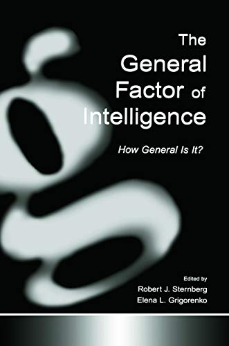 9780415652445: The General Factor of Intelligence: How General Is It?
