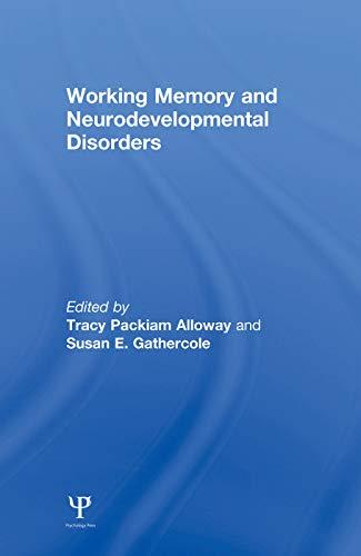 9780415653343: Working Memory and Neurodevelopmental Disorders