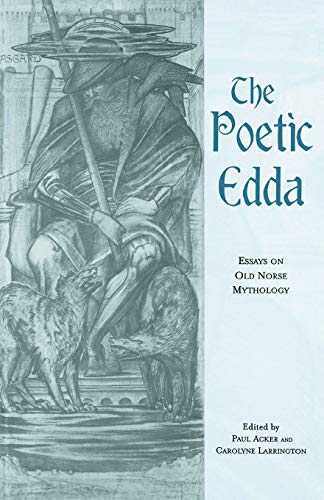 9780415653855: The Poetic Edda: Essays on Old Norse Mythology (Garland Medieval Casebooks)
