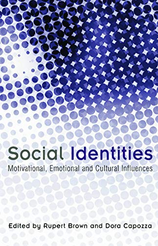 9780415654234: Social Identities: Motivational, Emotional, Cultural Influences