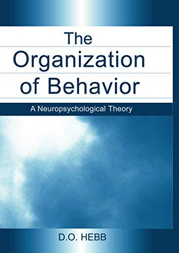 9780415654531: The Organization of Behavior: A Neuropsychological Theory