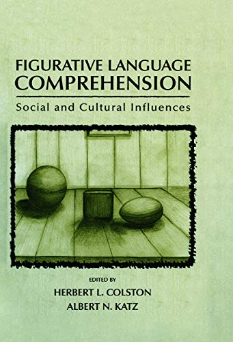 9780415654838: Figurative Language Comprehension: Social and Cultural Influences