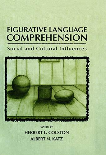 9780415654838: Figurative Language Comprehension: Social and Cultural Influences