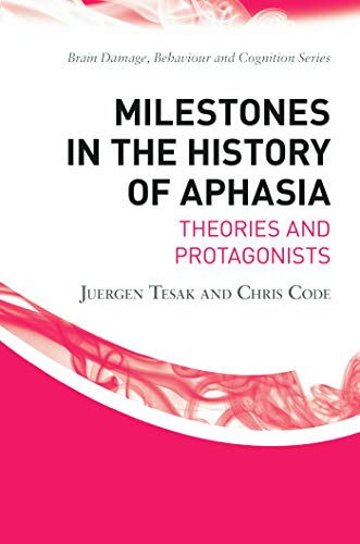 9780415655576: Milestones in the History of Aphasia: Theories and Protagonists (Brain, Behaviour and Cognition)