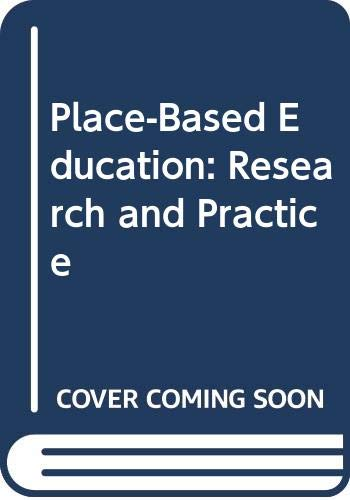 9780415656023: Place-Based Education: Research and Practice