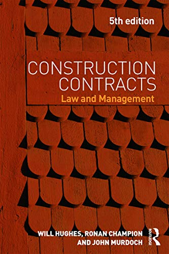 9780415657044: Construction Contracts: Law and Management
