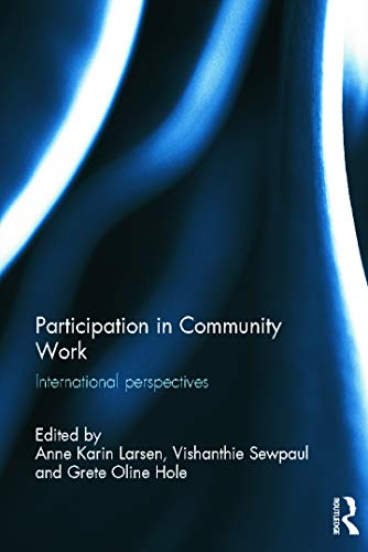 9780415658423: Participation in Community Work: International Perspectives