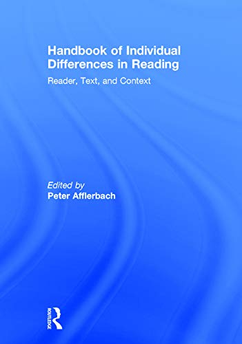 9780415658874: Handbook of Individual Differences in Reading: Reader, Text, and Context