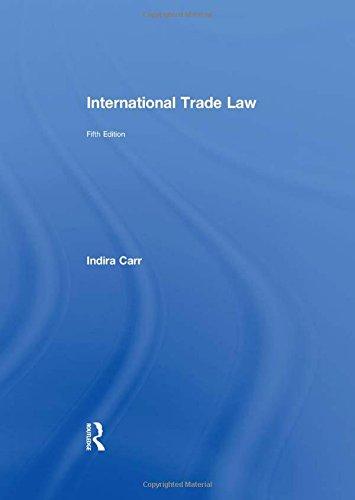 9780415659239: International Trade Law (Commonwealth Caribbean Law)